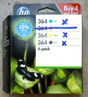 HP 364 Tintenpatronen