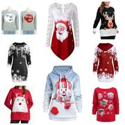 neue Weihnachts Pullover Hoodies Long