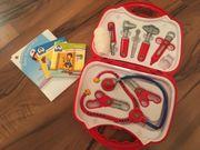 Spielzeug Arztkoffer - vollständig mit Zugaben