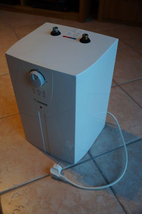 Junkers elektronischer Warmwasserbereiter Boiler Elacell Enu 5-3 in ...