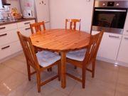 Holz-Küchentisch