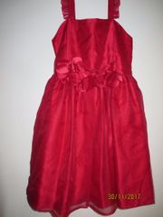 Rotes Mädchenkleid - neu