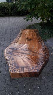 Einzeltisch aus echtem Holz lackiert