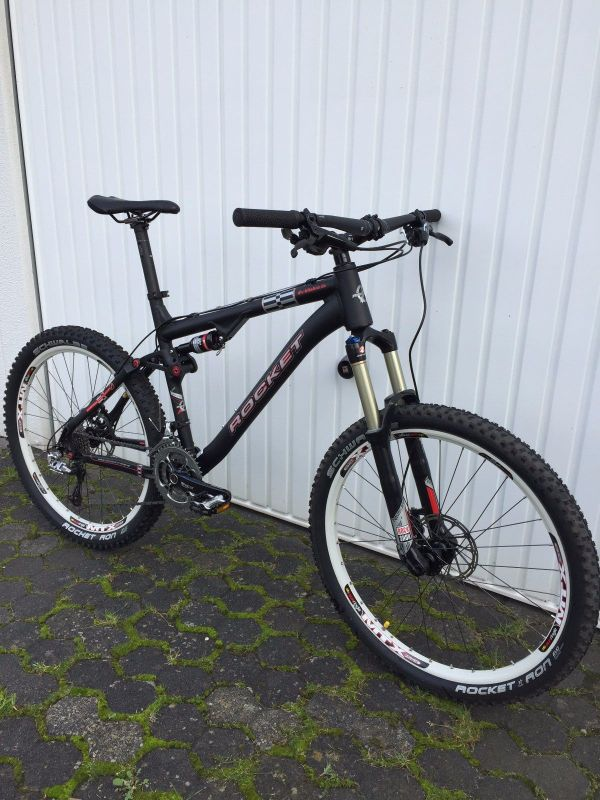 Rocket All Mountain Fully MTB, 48cm, XTX9, Rock Shox 150mm ...