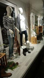 ladeneinrichtung Textilgeschäft Geschäftsaufgabe