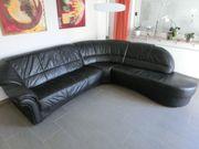 Leder Eck-Couch