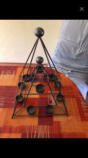 Teelicht Pyramide