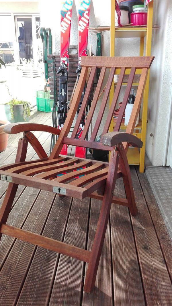 Gartenstuhl Aus Holz