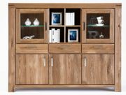 Highboard Karo Kira Wildeiche massiv