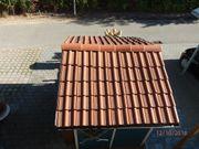 Dachziegeln und Firstziegeln