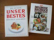 Große Kochbücher: Oetker