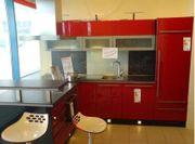Ausstellungsküche Einbauküche Kühlschrank