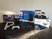 Playstation 4 PRO inkl VR-Brille