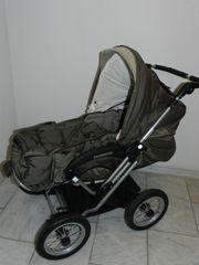 Teutonia Kinderwagen mit Tragetasche