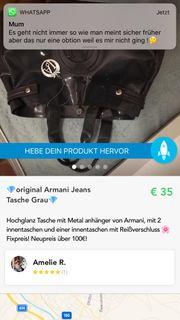 Orginal Armani Jeans Tasche Farbe