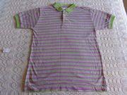 Poloshirt Shirt mit Knopfleiste Gr