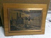 Bilder auf Kupferplatte geätzt Kupferbild