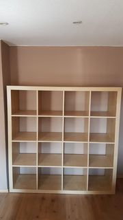 Kallax Regal Ikea Beige 4x4