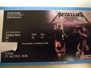 Metallica Konzertkarte München