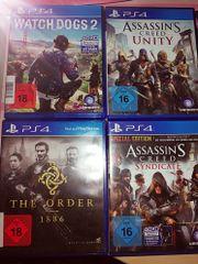Diverse PS4 Spiele(