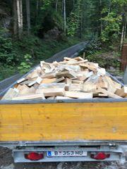 Brennholz weich 2 srm auf