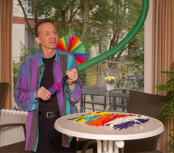 Ballonmodellage für Kindergeburtstage Veranstaltungen und