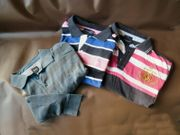 3 X Polo-Shirts Pullover von