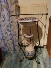Waschschüssel mit Krug