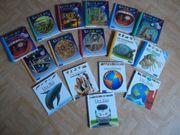 15 Wissens Bücher 8x Licht