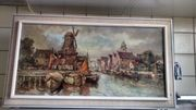 Malerei Altes Stadtbild Mahler Täuber
