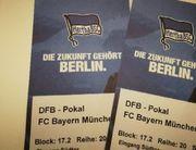 DFB Pokal Hertha-Bayern
