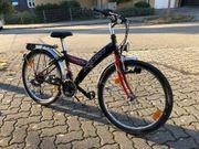 Fahrrad schwarz 24 Zoll 21