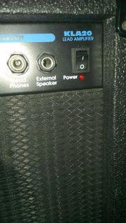 Verstärker (Kustom) & Soundpedale (