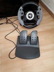 Playstation 3 lenkrad mit pedale