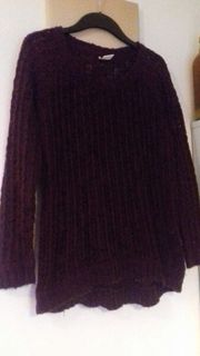 Pullover lila Gr S von