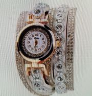 Strass - Armband - Uhr