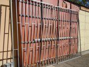 2 XXL Stahltore- Sicherheits- Tor-Tür-Stahl-Gitter-Türen-