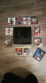 PS3 2x Controller 10x Spiele