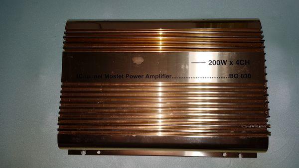 Endstufe 800 Watt