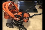 Kinderwagen 3 in 1 Kindertragetasche