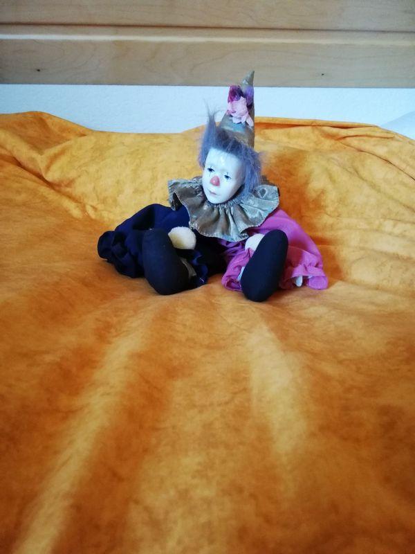 Porzellan Clown