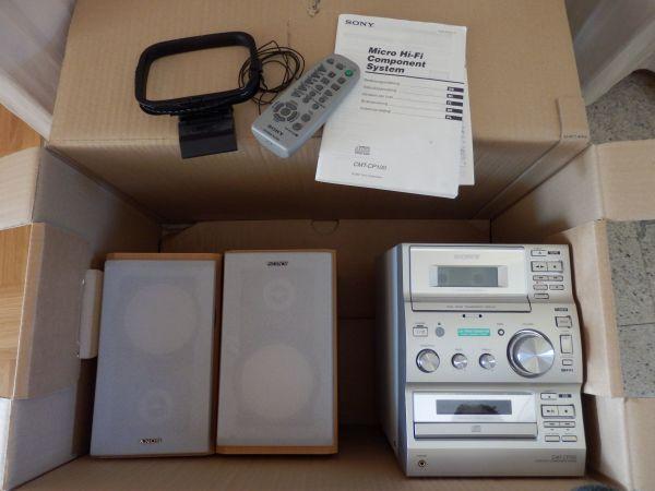 Kleine Sony Anlage » Stereoanlagen, Türme