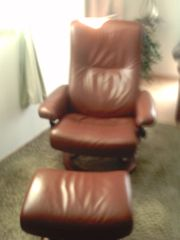 Stressless Sessel S mit Hocker
