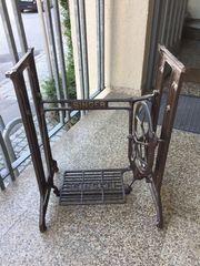 Tischgestell Eisen Singer Nähmaschinengestell