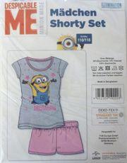 Mädchen Shorty Set (