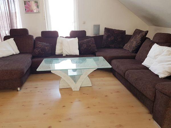 Verkaufe Braune Couch Mit Oder