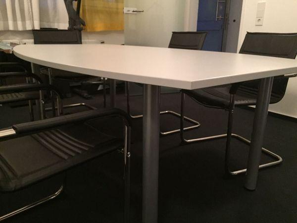 Konferenztisch mit 8 Stühlen günstig abzugeben! in Esslingen am ...