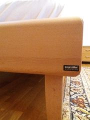 Holzbett 100x200 Segmüller mit Lattenrost