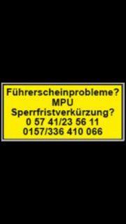 Fuehrerscheinprobleme MPU.