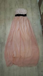maxikleid rosa xs/